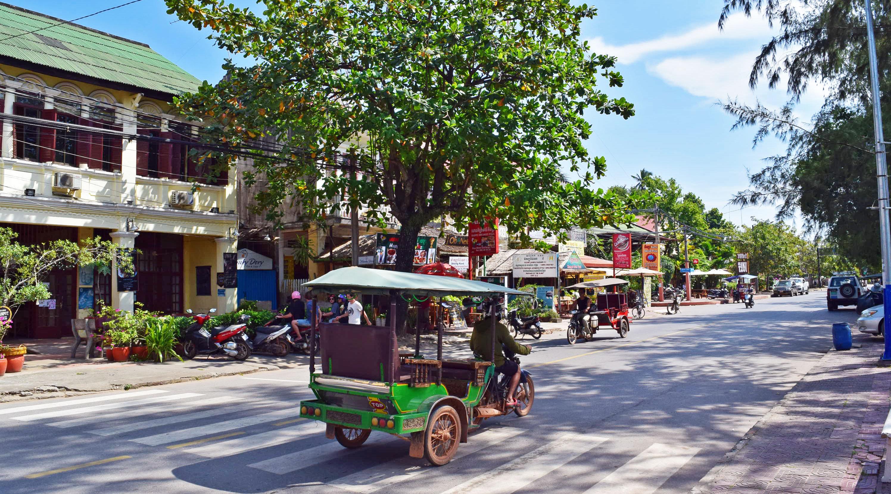 Kampot tuktuk