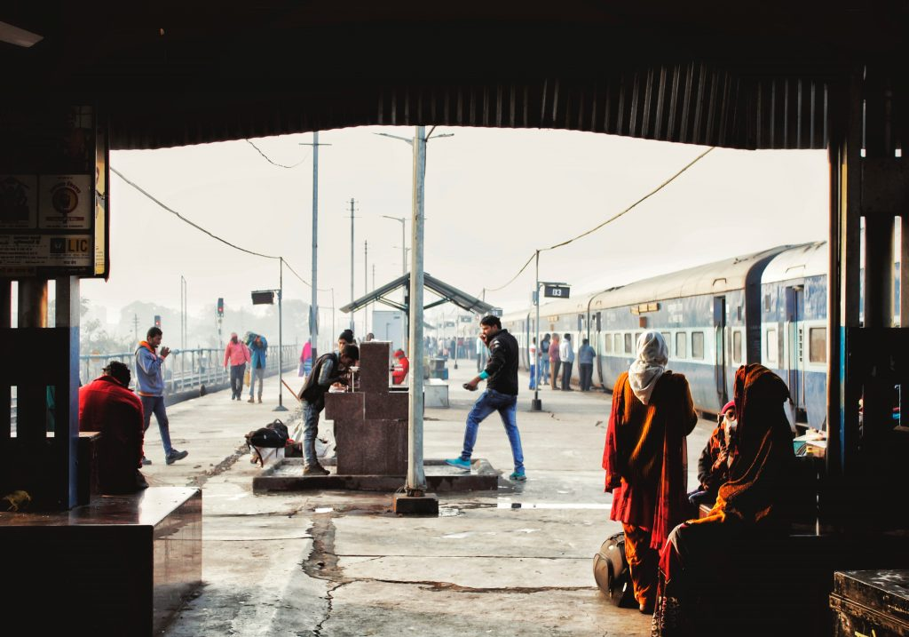 train station india travel fail