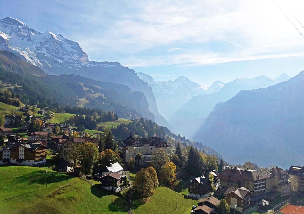 Wengen Switzerland Summer