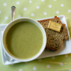 Irish soup and soda bread