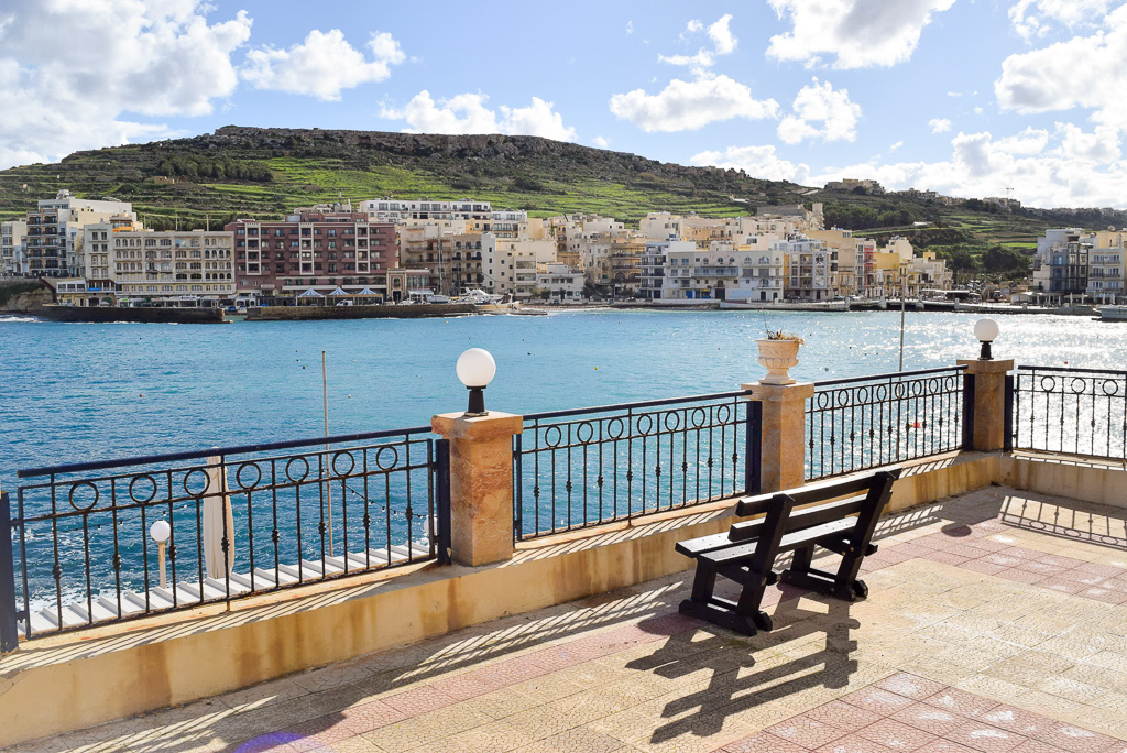 Brief history of Malta while sitting at the seafront