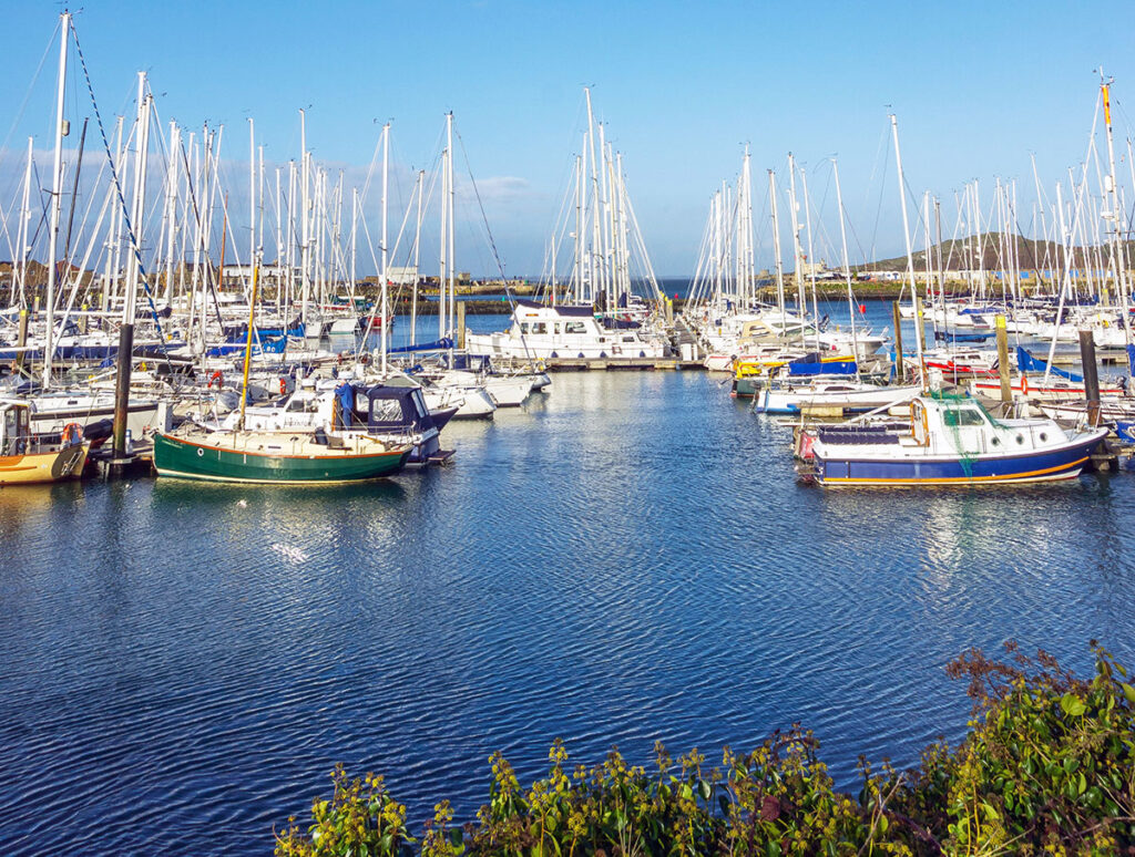 Howth Harbour Boats in Dublin